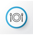 restaurant icon symbol premium quality isolated vector image