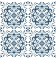 Seamless Pattern Vintage Victorian Tile vector image vector image