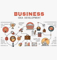 set icons and elements application vector image vector image