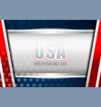 usa background independence day vector image vector image