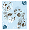 Abstract pattern composition vector image