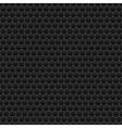 Black rubber texture vector image vector image