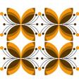 floral elements background vector image