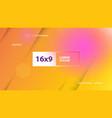 futuristic design orange background templates vector image vector image
