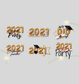 inspiration and motivation graduation party quotes vector image