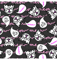 Meow kitties background vector image vector image