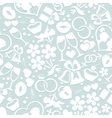 Pale romantic seamless pattern vector image vector image