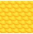Seamless pattern of honeycombs