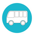van vehicle icon vector image vector image