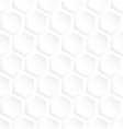 White hexagon abstract seamless pattern background
