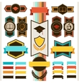 School education badges and ribbons vector image