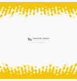 abstract yellow color stripe line background of vector image