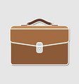 briefcase portfolio icon vector image
