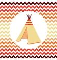 Ethnic Wigwam vector image vector image