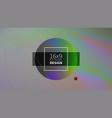 futuristic design background templates vector image vector image