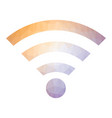 gprs logo radio wave icon wireless network vector image