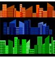 horizontal seamless texture vector image vector image