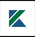 initials k logo icon design template elements vector image