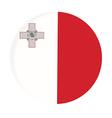 Malta flag vector image