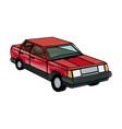 red car sedan wheel auto vehicle image vector image vector image