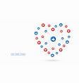 the like and love buttons background design vector image vector image