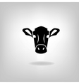 abstract cows head vector image