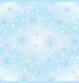 gentle blue gradient seamless christmas pattern vector image vector image