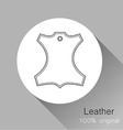 Leather original vector image vector image