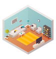 Living Room Design Composition vector image vector image