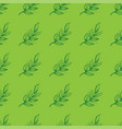 seamless pattern from branches with leaves for vector image