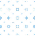 sunshine icons pattern seamless white background vector image vector image