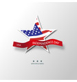 united states of america 4th of july vector image vector image