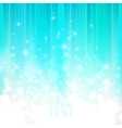 abstract blue background with sparkles vector image