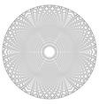 circle 3d pattern vector image vector image