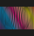 colored background pattern rainbow colored vector image