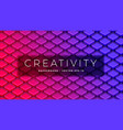 isometric abstract design squares with round vector image