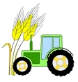 symbol of agriculture vector image vector image
