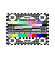 tv settings vector image vector image