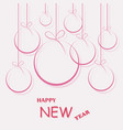 2019 happy new year and marry christmas vector image vector image