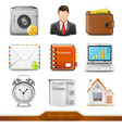 Businesss icons set 2 vector image