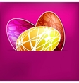 Happy Easter Card EPS 8 vector image vector image