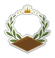 olive branch emblem icon image vector image vector image