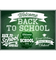 retro labels badges for sales back to school vector image