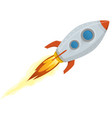 rocket ship vector image vector image
