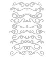 rope text dividers in black and white summer vector image vector image