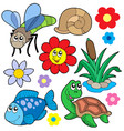 small animals collection 5 vector image