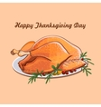 Thanksgiving day sale design vector image