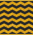 tile pattern with black stripes and gold vector image