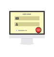 User login 35 vector image vector image