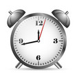 metal alarm clock vector image